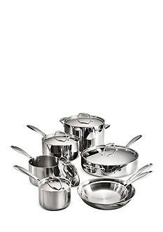 kitchenaid ds induction stainless steel cookware sets belk