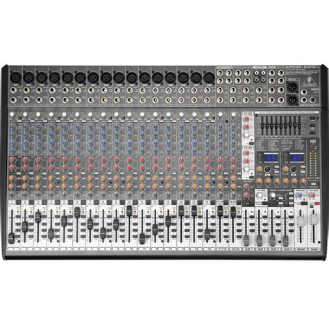 Mixer Behringer Sx2442fx Mixer Audio 24 Channel With Effect Sx 2442 behringer sx2442fx eurodesk large format mixer from rimmers
