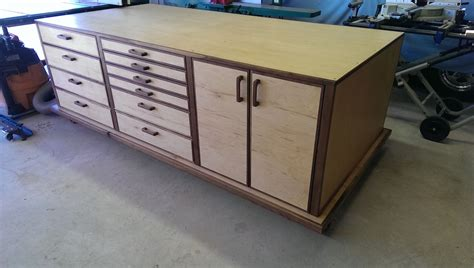 woodworking shop table wes shop table the wood whisperer