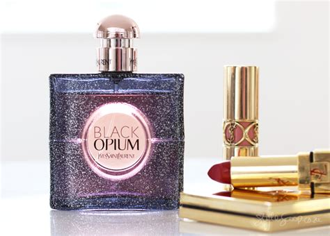 Parfum Original Yves Laurent Black Opium Nuit Blanche Tester the hypnotic new ysl black opium nuit blanche stylescoop