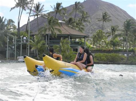 banana boat oahu banana boat picture of hawaii water sports center