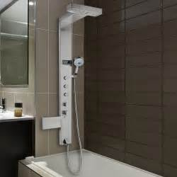 akdy waterfall shower panel tower reviews wayfair