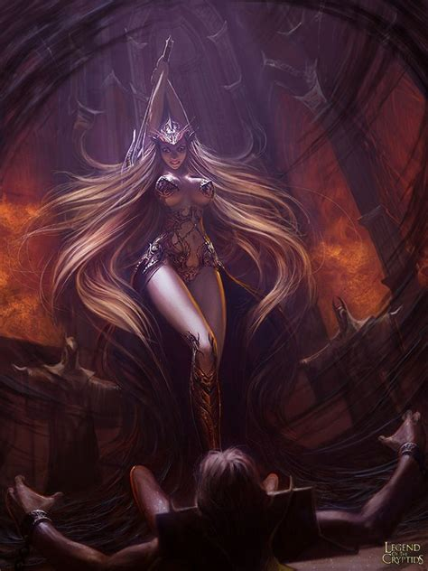 Succubus The Executioner legend of the cryptids on demons knights and