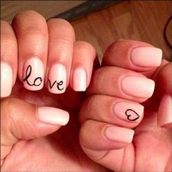 gel nail design idea from pinterest perfectly replicated