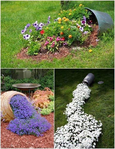 objetos para decorar jardines 20 ideas para decorar el jard 237 n con cosas recicladas