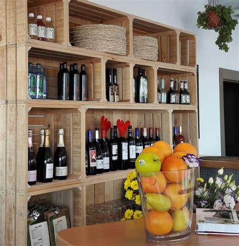 mueble barra bar mobiliario restaurante mueble auxiliar vintage cajas de