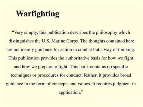 Mcdp 1 Warfighting Book Report by Ppt Evolution Of Warfare Powerpoint Presentation Id 1770854
