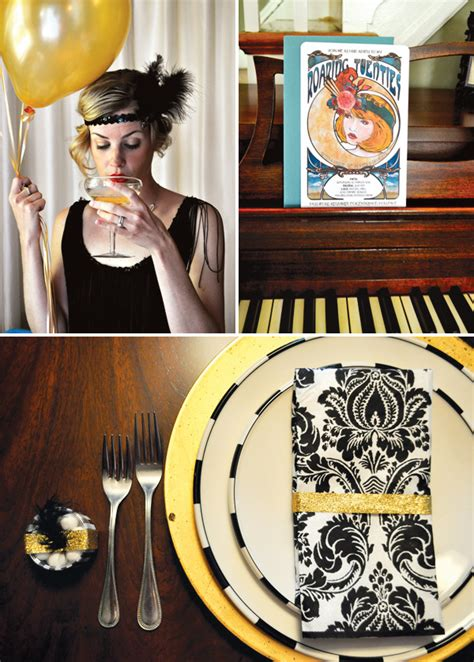 20s themed decorations deco style roaring 20s birthday