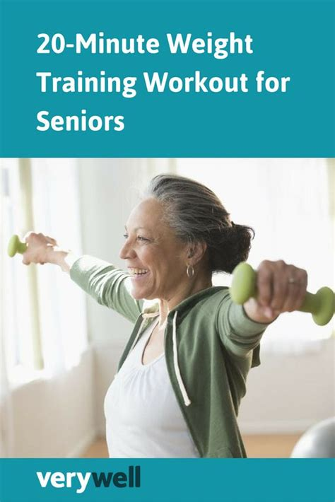 the 20 minute weight workout for seniors