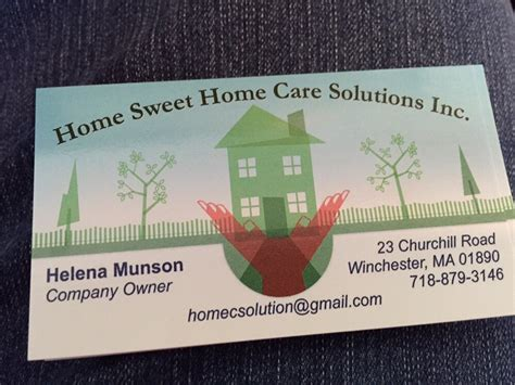 home sweet home care solutions in winchester home sweet