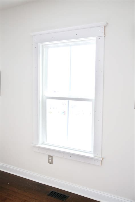 craftsman style interior trim how to install craftsman style interior window trim just