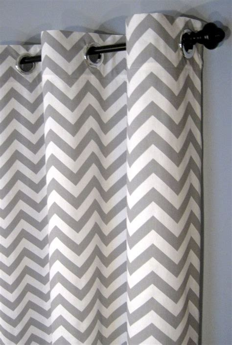 96 inch grey curtains 25 x 96 inch blackout lined grey zig zag grommet curtains