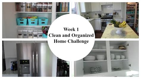 week 1 2016 clean and organized home challenge kitchen