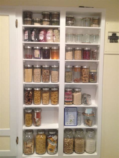 Jar Shelf by 17 Best Images About The Portrait Of A Pantry On