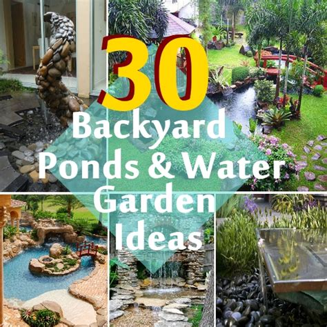 backyard ponds ideas 30 beautiful backyard ponds and water garden ideas diy home life creative ideas