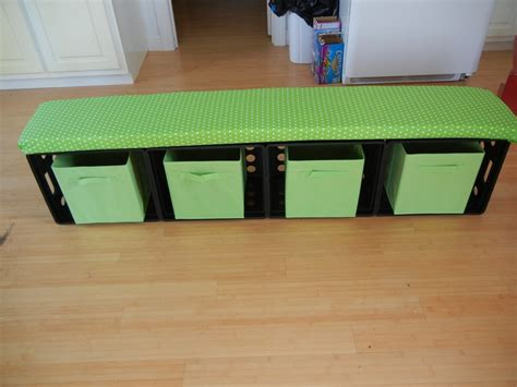 classroom benches crate storage bench classroom ideas pinterest