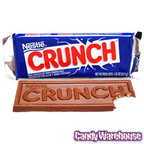 coco crunch nestle crunch candy bars 36 piece box candywarehouse com