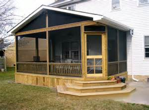 Screened Porch Plans by Screen Porch Designs And Construction Acdecks