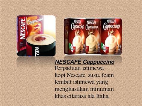 Nescafe Botol Nescafe Marketing Strategy Analysis