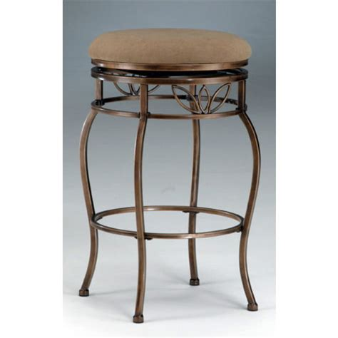 bar stools scottsdale hillsdale furniture backless scottsdale bar stool in brown