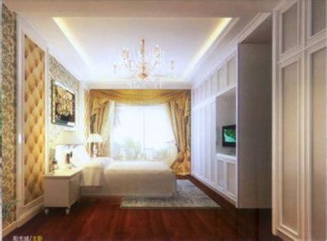 indoor overall minimalist space night view 3d model