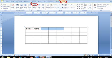 cara membuat tabel merge html cara mudah menggabungkan merge tabel di microsoft word