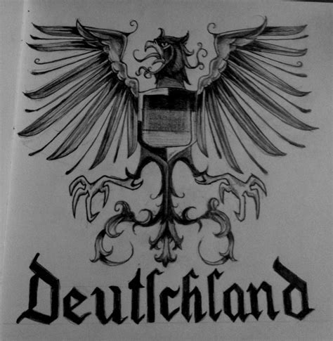 german tattoos designs german imperial eagle www imgkid the image