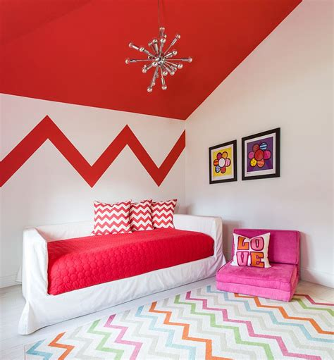chevron pattern room ideas 25 kids bedrooms showcasing stylish chevron pattern
