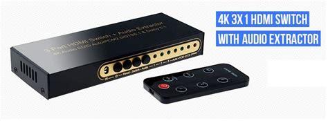 3x1 Hdmi 1 4 Switch 3x1 hdmi 1 4 switch with audio return channel arc 3d tv