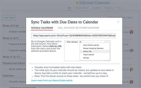 Sync Calendar With Ical Calendar Sync App Integration 183 Asana