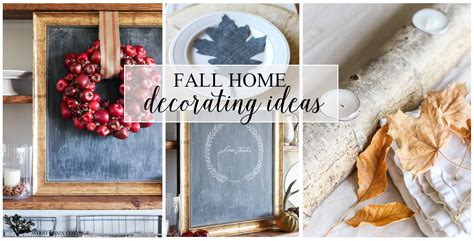 fall home decorating ideas the wood grain cottage
