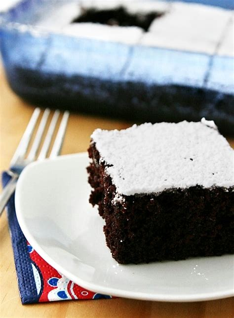 my recipe box chocolate wacky depression cake recipe