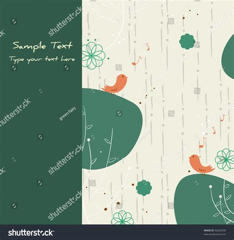 green card template green card template stock vector 30262990
