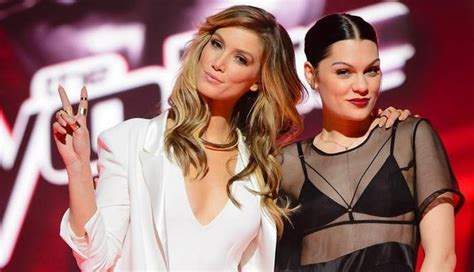 the voice australia jessie j delta goodrem and benji most people s journeys haven t been as d by delta goodrem