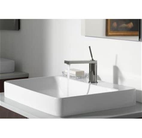 kohler vox vessel faucet com k 2749 1 0 in white by kohler