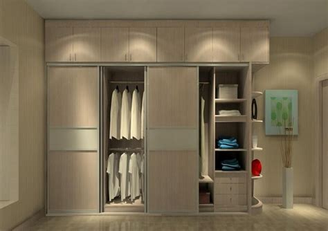 bedroom wall wardrobe design wood wardrobe for a minimalist bedroom 3d house