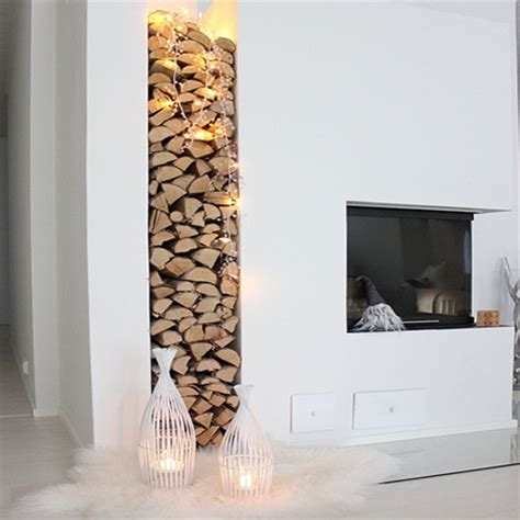 string lights for fireplace home dzine home decor use lights or string lights