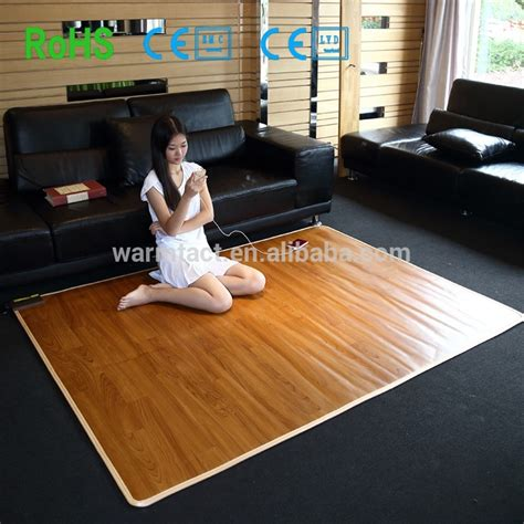 electric heated rug heated carpets floor matttroy
