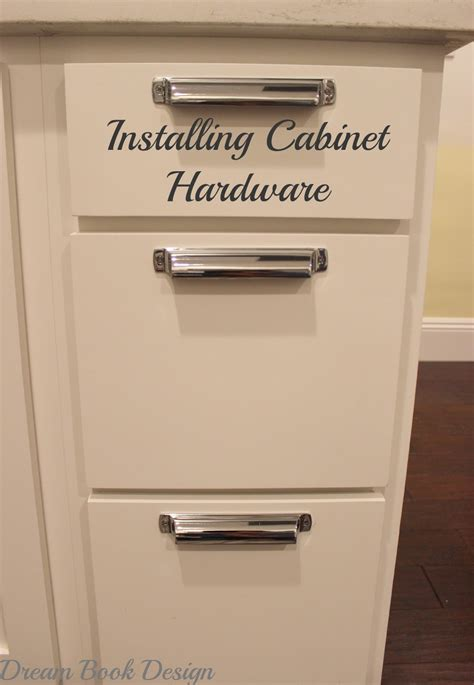 How To Install Hardware On Kitchen Cabinets | how to install kitchen cabinet hardware tutorial dream