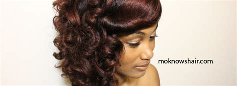 roller set relaxed hair mo knows hairstyles hairstyle gallery