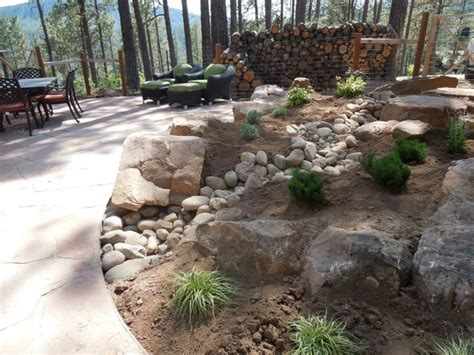 landscape architect colorado 9 best images about drainage solutions with cobble streambeds grading and drains on