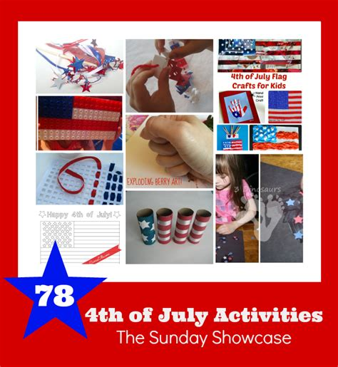 4th of july activities the sunday showcase