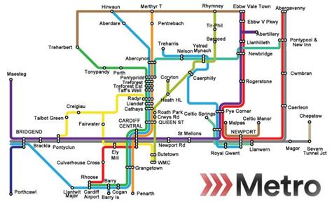 map uk metro 163 600m to deliver south wales metro by 2020 news