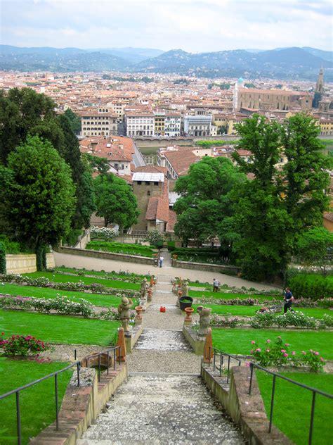 Boboli Gardens Florence by In The Boboli Gardens Of Florence Through The
