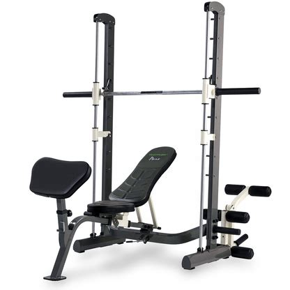 pure fitness weight bench tunturi pure compact smith machine weight bench with