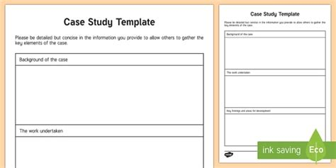 The Key Elements Of Great Resources by Study Template Families File