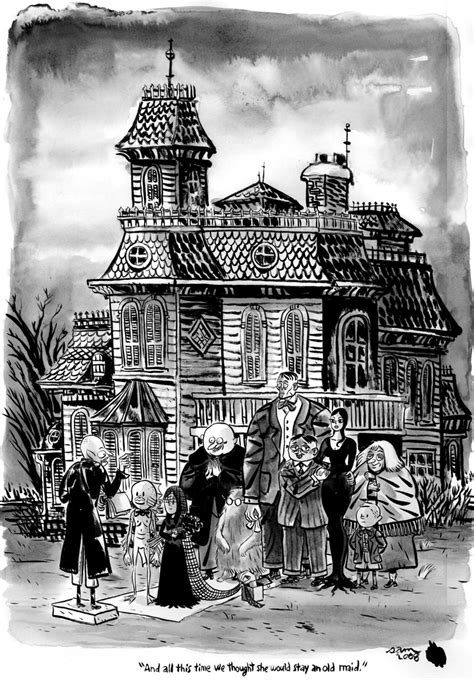 Blueprints For Houses Free by Charles Addams The Addams Family 1964 Photo 28059651