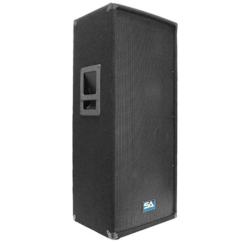 Speaker Macrone Ms 620 pair dual 12 quot pa dj speakers 1200 watts pro audio band reverb