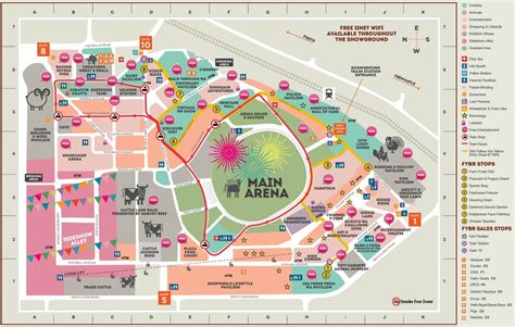 show a map iga perth royal show 2015 perth
