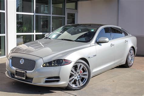 jaguar owned by who pre owned 2011 jaguar xj xjl 4dr car in bellevue 69622a